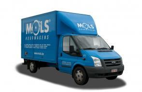 Camionnette de déménagement avec benne compacte - 3 sièges - LEZ permis  (cl 40)
